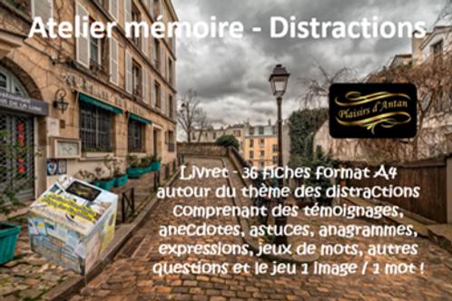 Atelier mémoire Plaisirs d'antan - Distractions