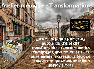 COM BOUTIQUE ATELIER MEMOIRE TRANSFORMAT
