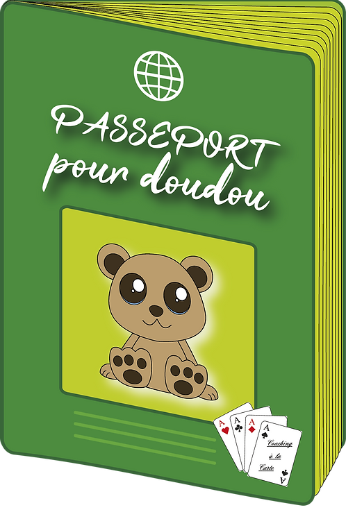 """Concept """"Passeport pour doudou"""""""