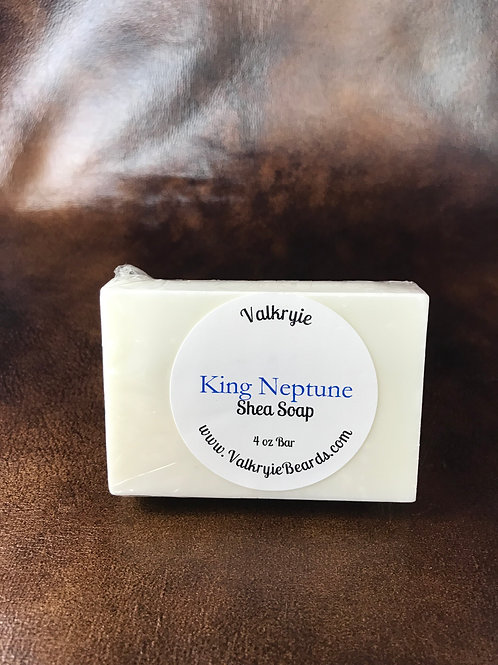 King Neptune Shea Butter Bar Soap