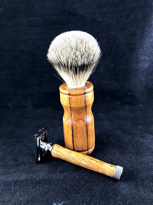 Whiskey Barrel Shave Brush