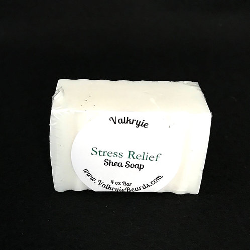 Stress Relief Shea  Bar Soap