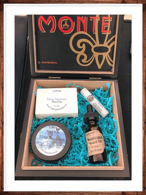 King Neptune Ultimate Beard Grooming Gift Set