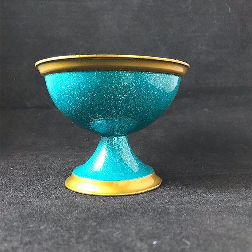 Antique Silver Shave Bowl