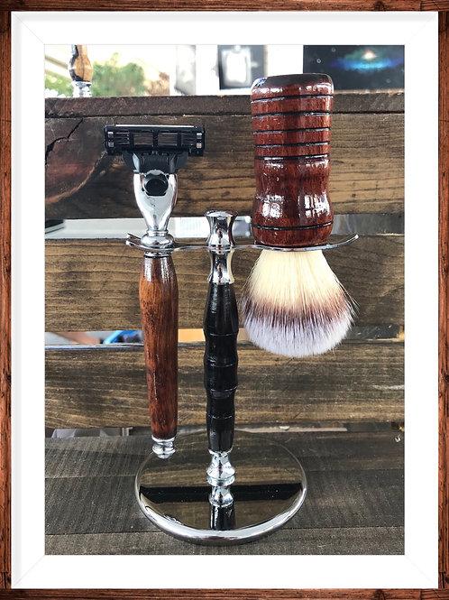 Bloodwood Shave Brush