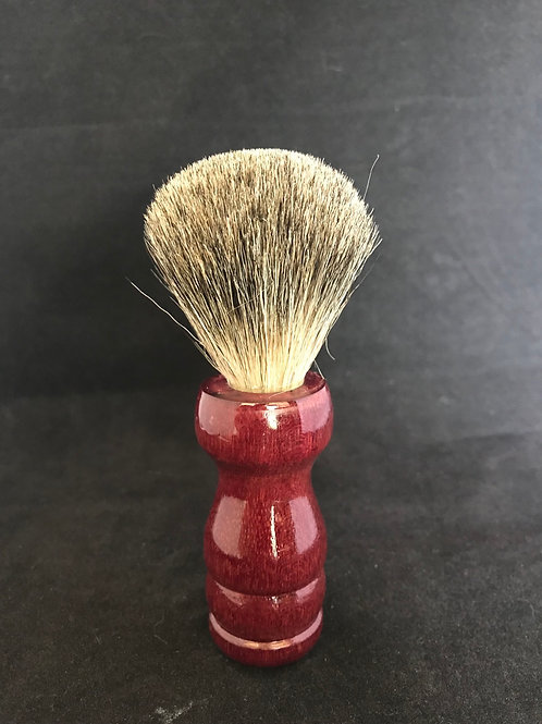 Purple Heart Shave Brush