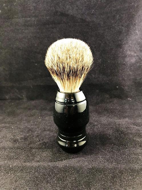 Black Acrylic Shave Brush