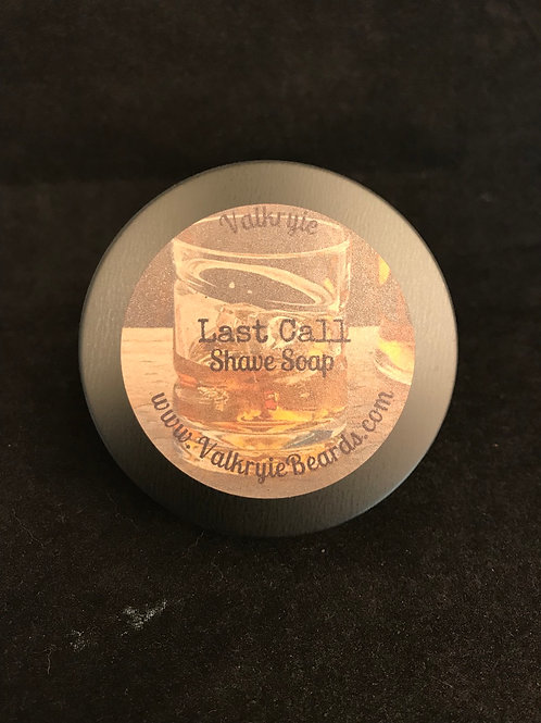Last Call Shave Soap
