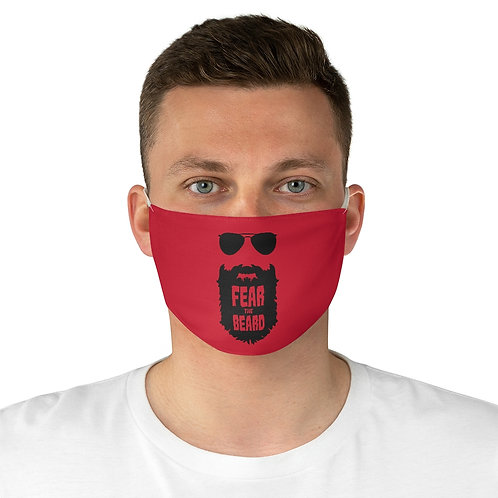 Fear the Beard Fabric Face Mask