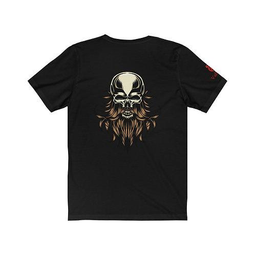 Valkryie Bearded Skull T-Shirt