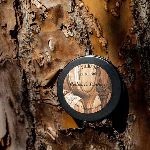 Cedar & Leather Beard Balm
