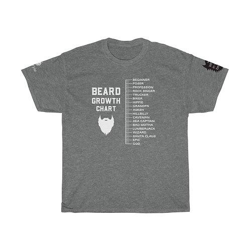 Beard Growth Chart Tee
