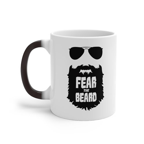 Color Changing Fear The Beard Mug