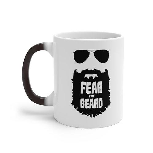 Color Changing Fear The Beard Mug
