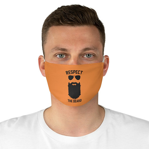 Respect the Beard Fabric Face Mask
