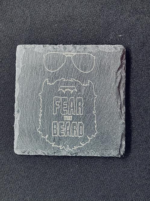 Fear the Beard Coasters