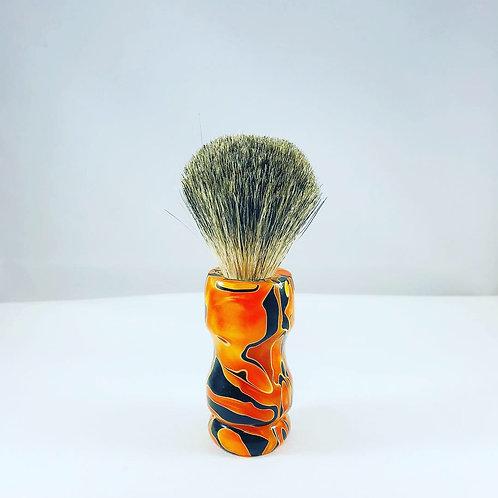 Custom HD Biker Shave Brush