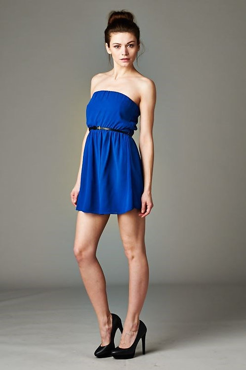 FD-302417SS TUBE DRESS HAS LINING INSIDE Dress coming with belt