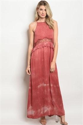S15-4-1-D12605 CRANBERRY DRESS