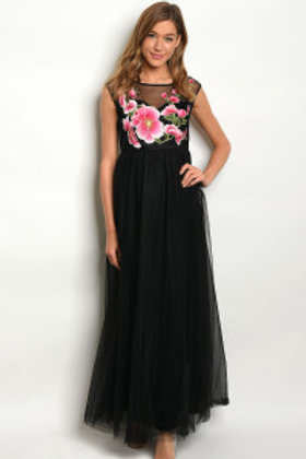 S9-16-1-D02906 BLACK DRESS