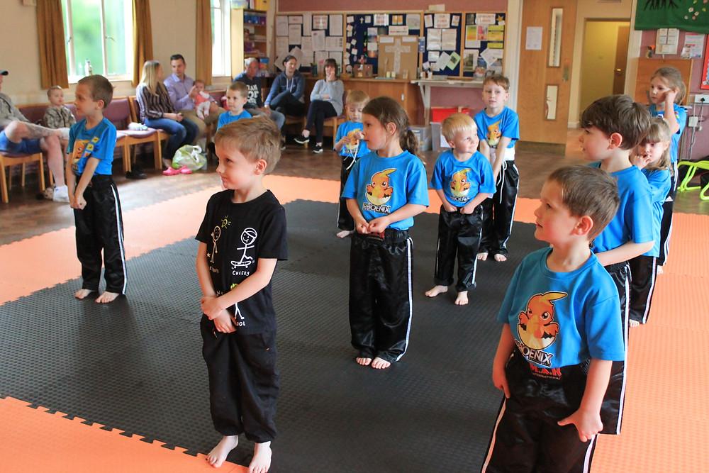 Discipline kids kickboxing chelmsford