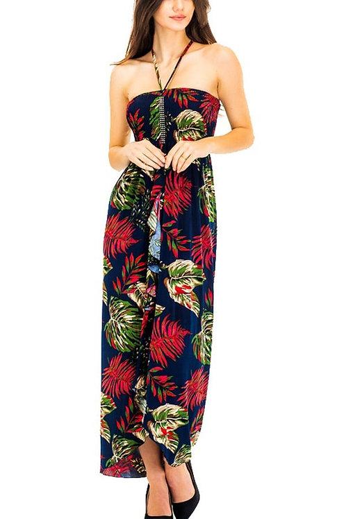 Summer Floral Maxi Dress KM-231-2712