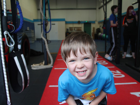 Apart from putting a smile on your child's face, what do martial arts do for your child?