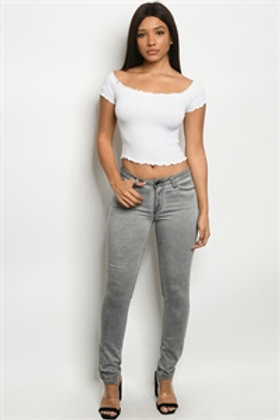 S8-5-2-P175 GRAY DENIM PANTS
