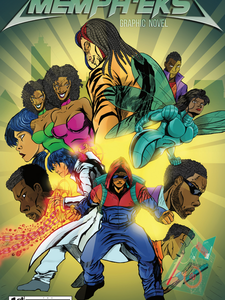 The Moragne Group Releases First Edition of Memph'Eks Graphic Novel Series!
