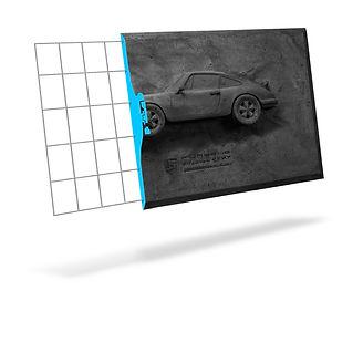 Porsche Carrera RS 2.7 Canvas cutaway