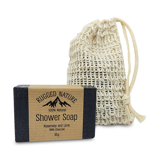 Rugged Nature Shower Soap Starter Kit