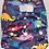 Thumbnail: Green Cheeks Dino-roar! - Hemp Cloth Pocket Nappy