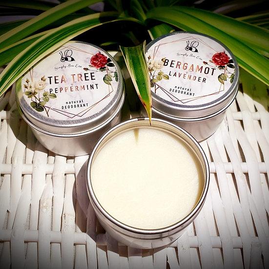 Bergamot & Lavender Natural Deodorant