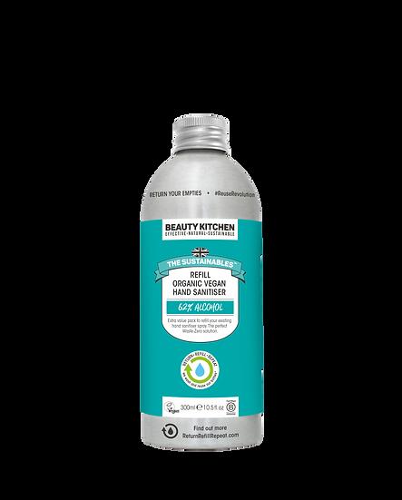Organic Vegan Hand Sanitiser- 300ml Refill