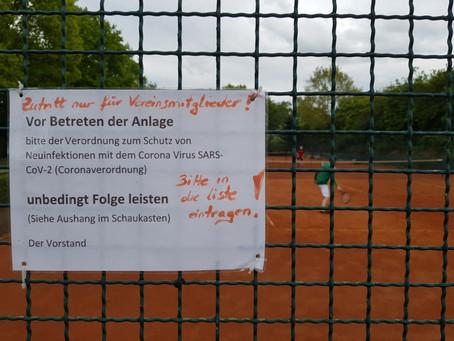 Freigabe der Sportanlage für Vereinsmitglieder