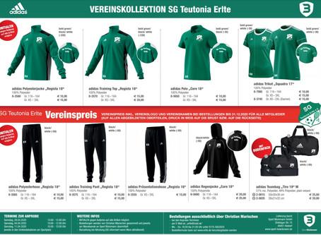 Vereinskollektion SG Teutonia Erlte