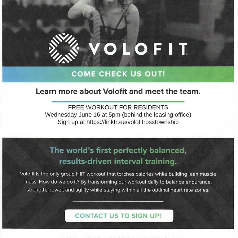Volofit- Free workout
