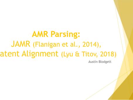 AMR Parsing
