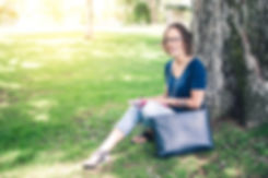 Tracy notebook in park.jpg