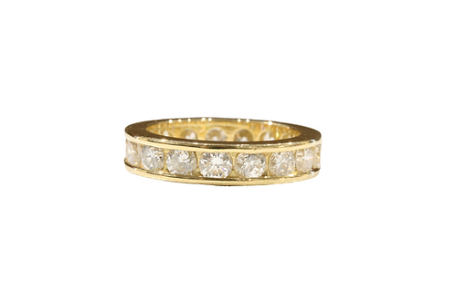 French 2.50ct diamond eternity ring