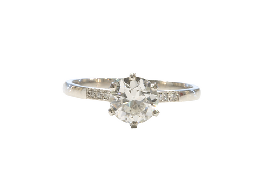 0.90ct Diamond solitaire