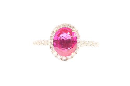 1.75ct Ruby ring