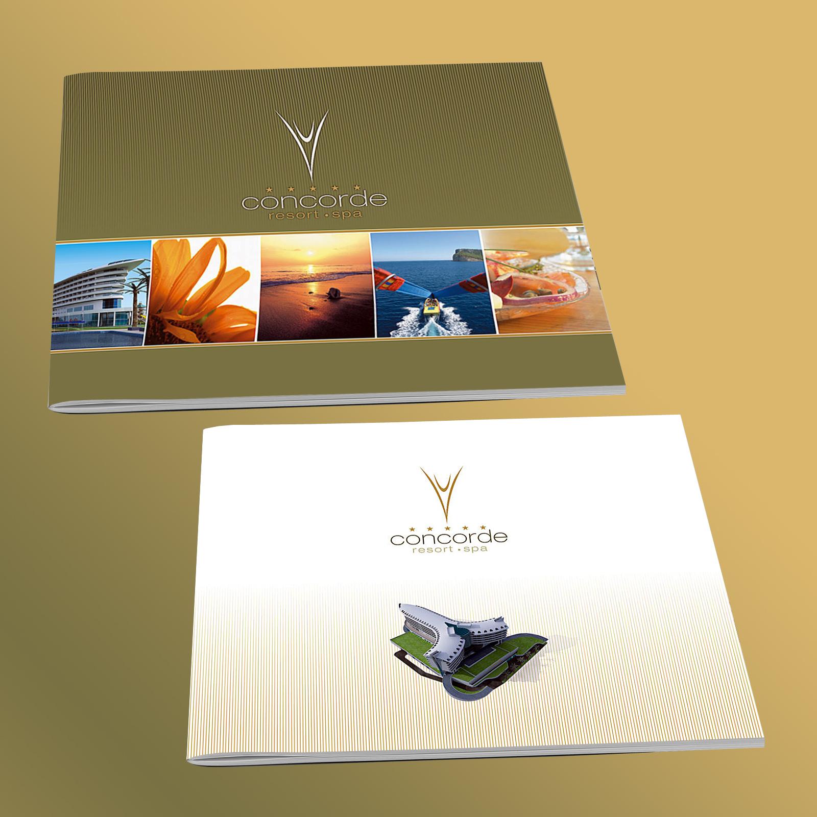 Concorde Hotels Brochure Design