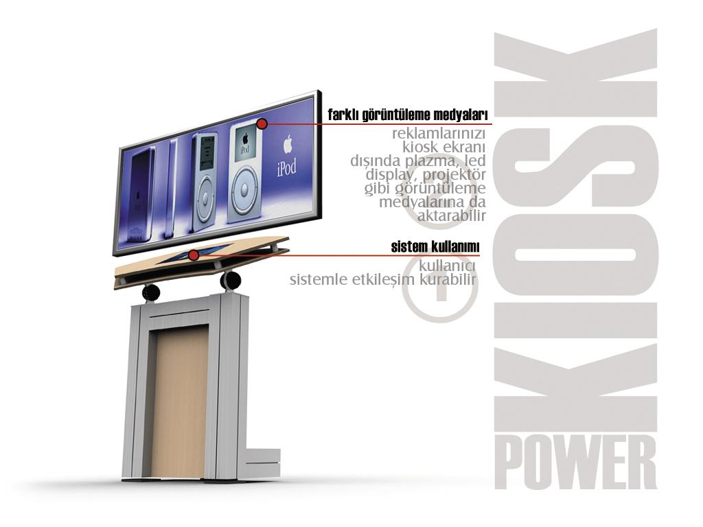 Enformasyon Kiosk Ünitesi Tasarımı