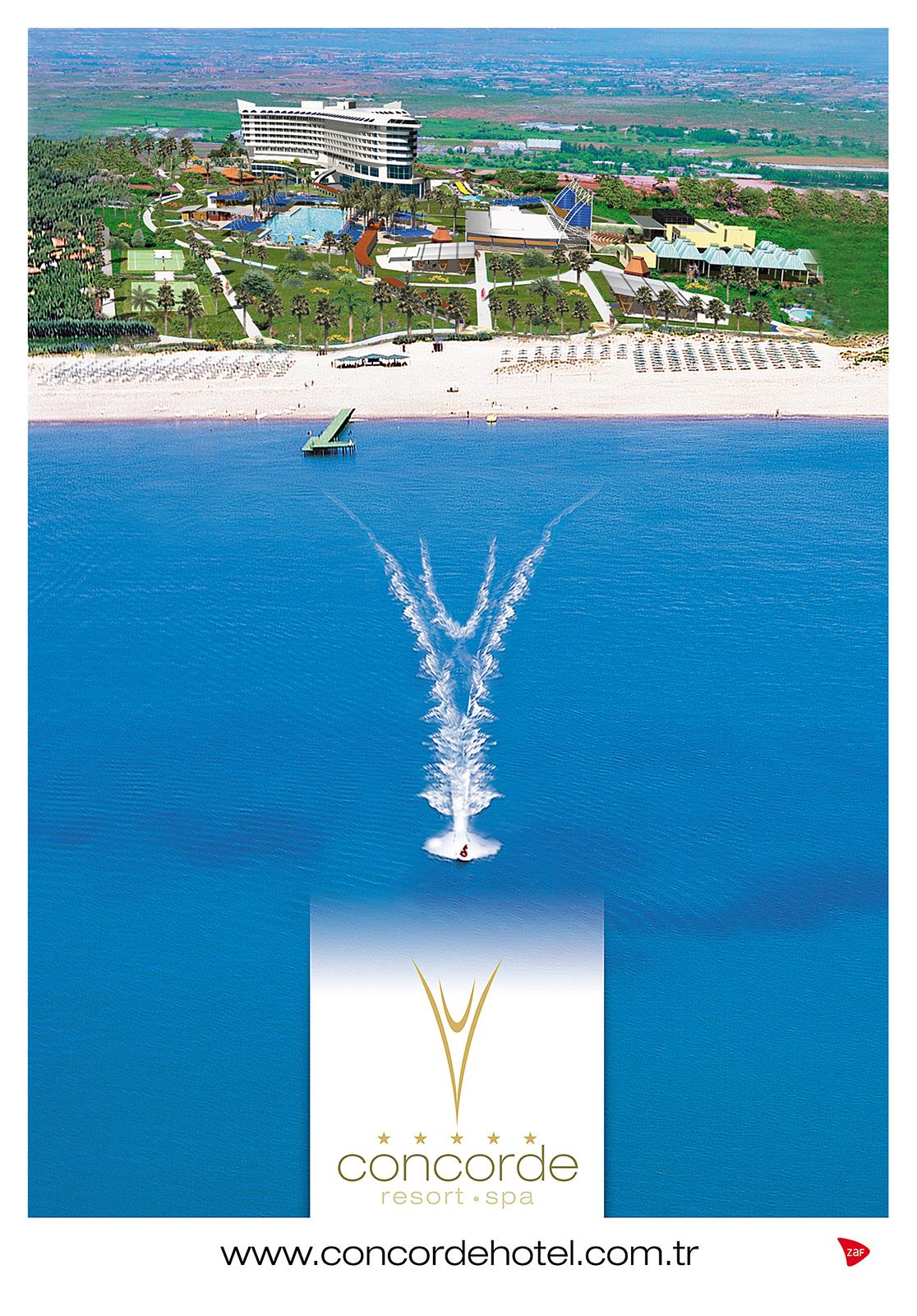 Concorde Hotels Exhibition Visual