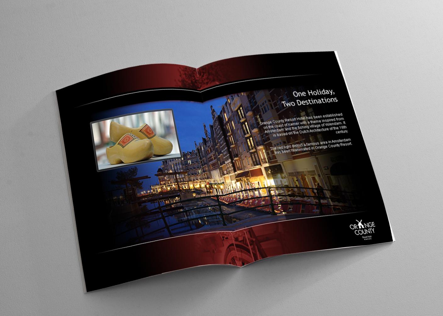 Orange County katalog tasarımı