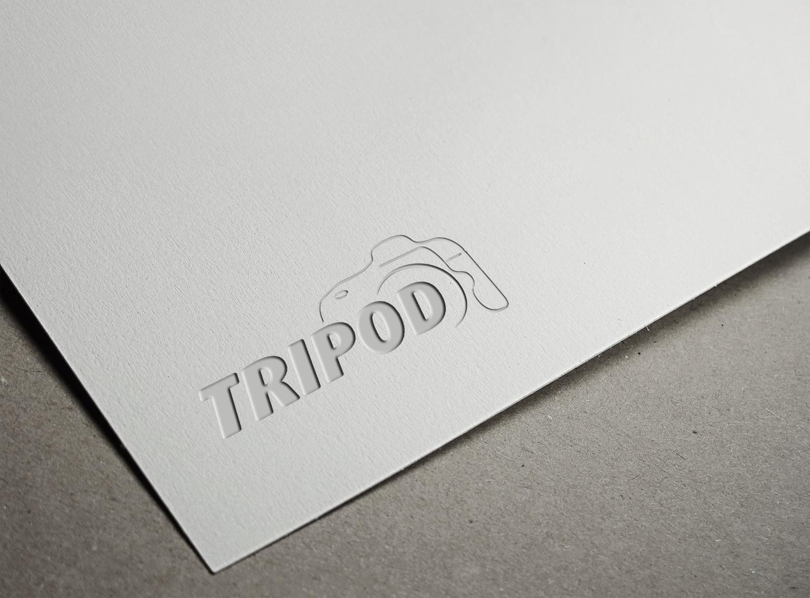 TRIPOD Fotoğrafçılık Logo Tasarımı