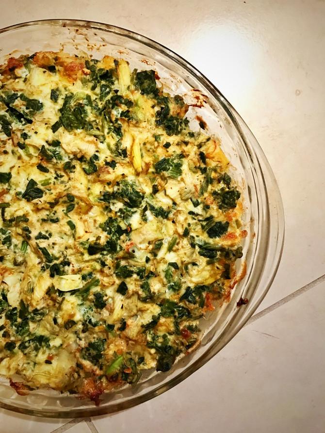 6-Ingredient Spinach & Artichoke Dip