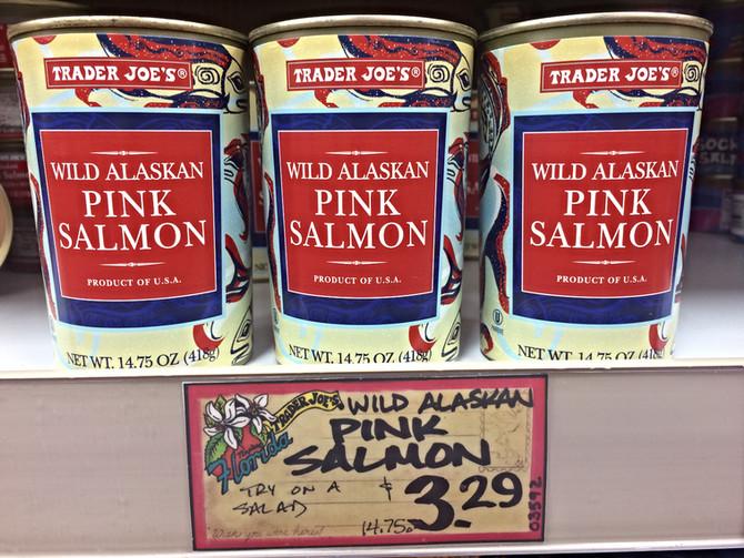 Trader Joe's 14.75oz Wild Alaskan Pink Salmon