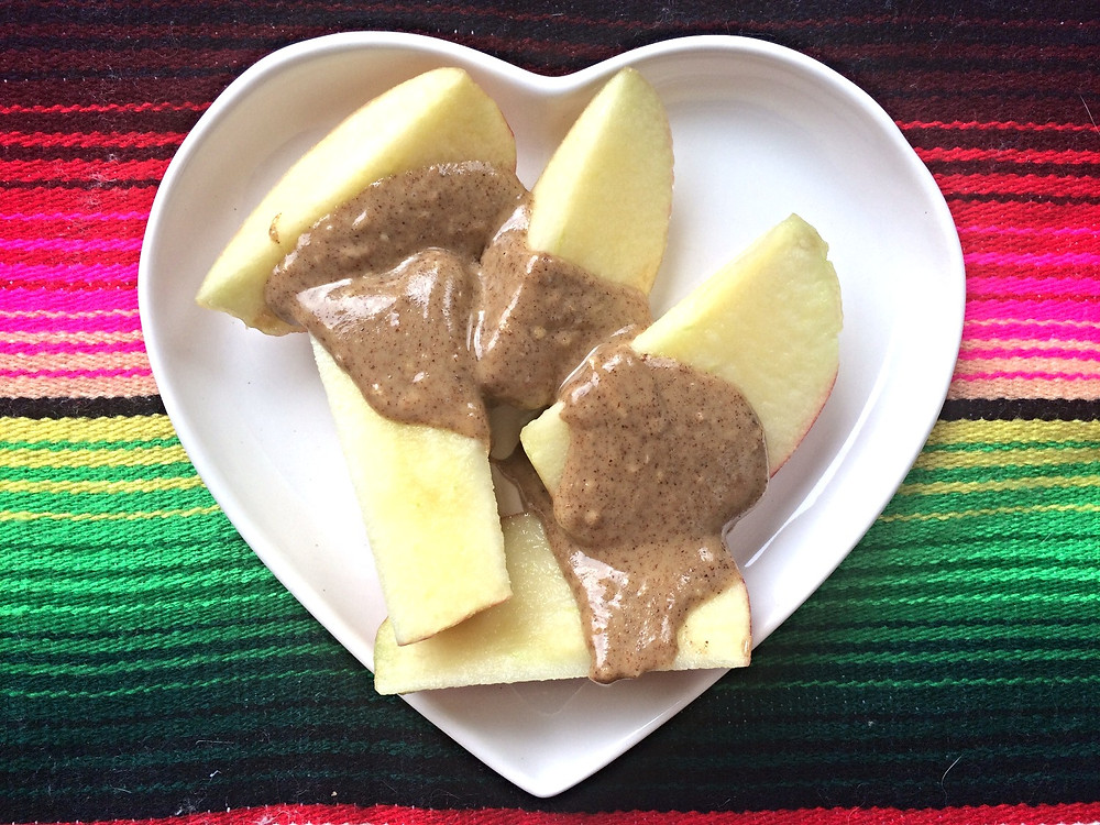 Fuji Apple + Almond Butter
